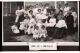 First meeting of Lutheran Ladies Aid, Mercer, N.D.
