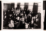 Era Bell Thompson in class, Driscoll, N.D.