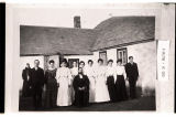 Confirmation class, Langandahl Lutheran Church near Arena, N.D.