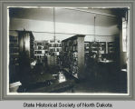 Educational reference department office, Public Library Commission, Bismarck, N.D.