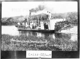 Alex Alexanderson's Wanderland steamboat on James River, LaMoure, N.D.