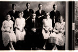 Confirmation class, Lutheran Free Church, Lansford, N.D.
