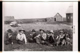 Watermelon party near Larimore, N.D.
