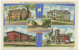 Some of the main college buildings, Agriculture College, Fargo, N.D.