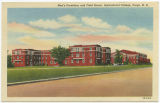 Men's dormitory and Field House, Agricultural College, Fargo, N.D.