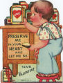 Preserve Me in Your Heart Valentine