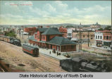 Railroad depot, Dickinson, N.D.