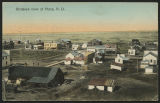 Birdseye view of Plaza, N.D.