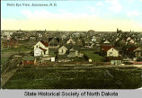 Bird's eye view, Jamestown, N.D.