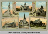 Churches of Jamestown, N.D.