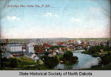 Bird's-eye view, Valley City, N.D.