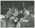 Mrs. William Guy Sr., Jean Guy and Mrs. Richard Larsen at joint session of 42nd Legislative...