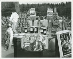North Dakota products display at Century 21 Exposition, Seattle, Wash.