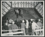Breakthrough at tunnel 7, Garrison Dam site