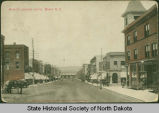 Main Street looking north, Minot, N.D.