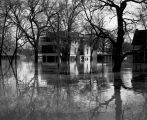 Flooded residential area, Fargo, N.D.
