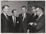 Quentin Burdick, Robert F. Wagner Jr., Harold L. Anderson, James Jungroth, and Myron H. Bright