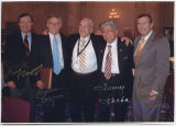 Earl Pomeroy, Byron Dorgan, Myron H. Bright, Daniel Akaka, and Kent Conrad, Washington, D.C.
