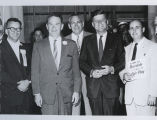 Myron Bright, Quentin Burdick, John F. Kennedy, and John Murphy, Fargo, N.D.