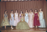 4-H Flax Queen contestants, Emmons County, N.D.