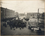 Laying of cornerstone, Y.M.C.A. building, Fargo, N.D.