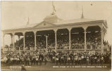 Grand stand at N.D. State Fair grounds, Fargo, N.D.