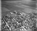 Aerial over Moorhead Teachers College, Moorhead, Minn.