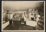 Interior of Julius Lommen's grocery store, Fargo, N.D.