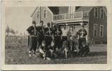 Baseball team, Sheyenne, N.D.