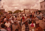 Crowd at 4th of July celebration, Strasburg, N.D.