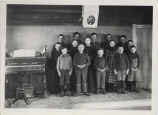 Students at Tyrol School No. 3, Griggs County, N.D.