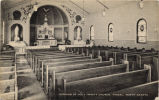 Interior of Holy Trinity Church, Fingal, North Dakota