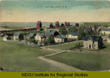 West side, Ashley, N.D.