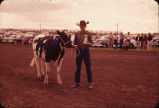 Top dairy heifer,4-H Acheivement Show, Emmons County, N.D.