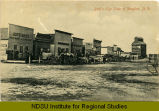 Bird's-eye view of Douglas, N.D.