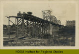 New steel bridge at Drayton, N.D.