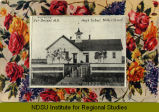 High School, Miller Street, Dwight, N.D.