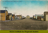 Main Street, looking north, Dogden, N.D.
