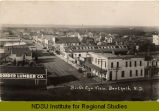 Bird's eye view, Berthold, N.D.