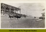 Harness racing at Grand Forks fairgrounds