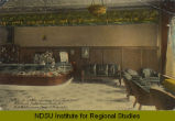 Portion of lobby showing Cigar Department, Frederick Hotel, Grand Forks, N.D., Fred Bartholomew,...