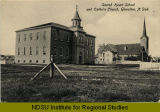 Sacred Heart School and Catholic Church, Glenullen, N.Dak.