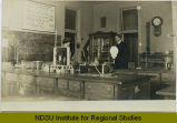 Chemistry lab at Jamestown High School, Jamestown, N.D.