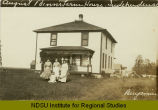 August Benn's farm house, Independence, N.D.
