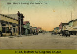 Main St. looking west, Leeds, N.Dak.