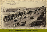 Broadway on July 4th, 1907, Linton, N.D.