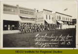 Celebrating day for soldiers and sailors, Lidgerwood, N.D., July 4, 14