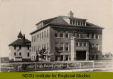 High school, Maddock, N.D.