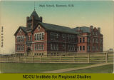 High School, Kenmare, N.D.