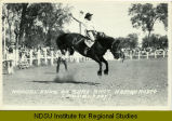 Manuel ends on sure shot, Mandan Rodeo (doubleday)